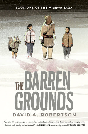 Robertson David A. The Barren Grounds BookCover